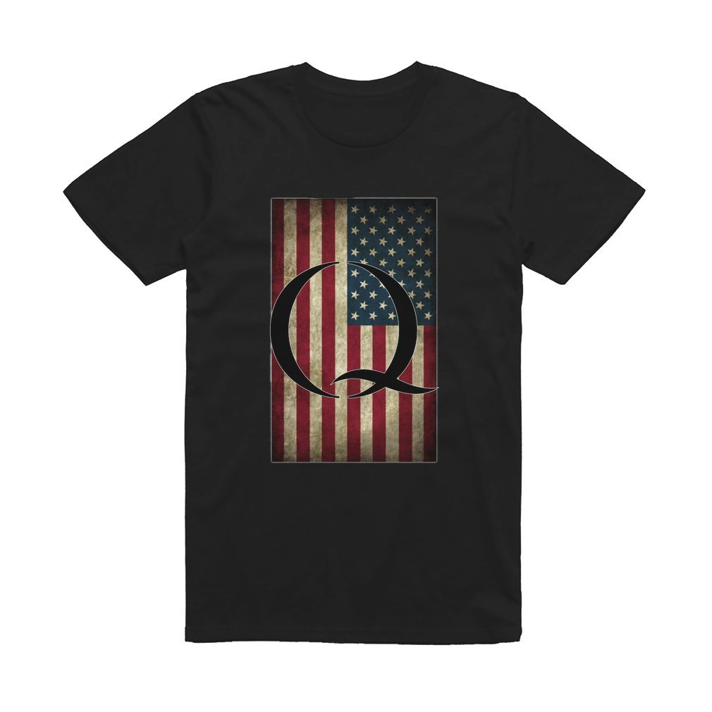 Thumb Q QANON AMERICA USA - WHERE WE GO ONE T Shirt