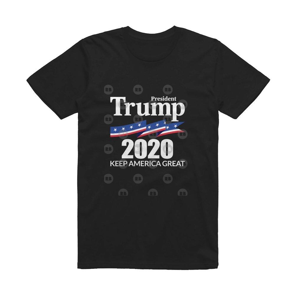 Thumb President Trump 2020 - Keep America Great T Shirt
