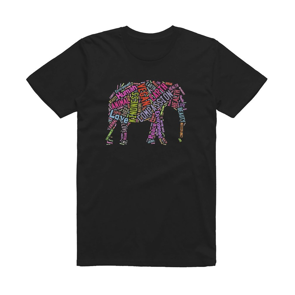Thumb Vegan Elephant T Shirt