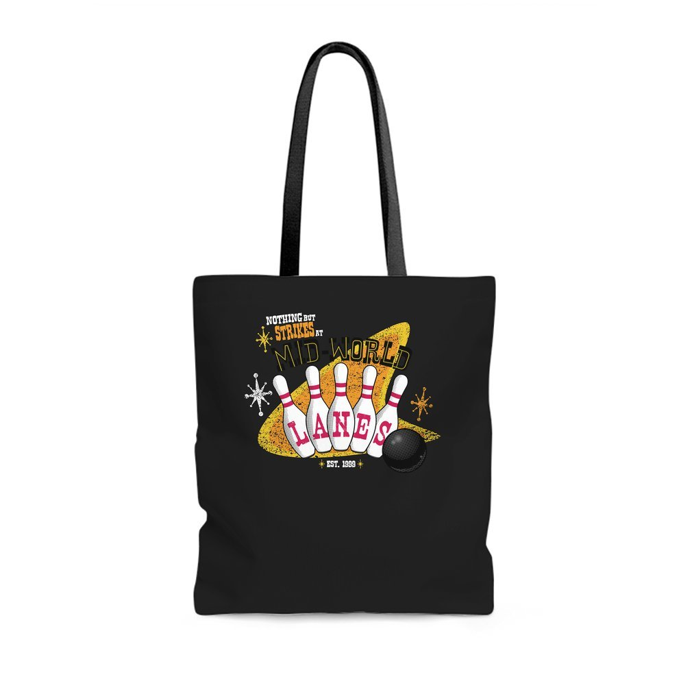 Thumb Nothing But Strikes Tote Bag