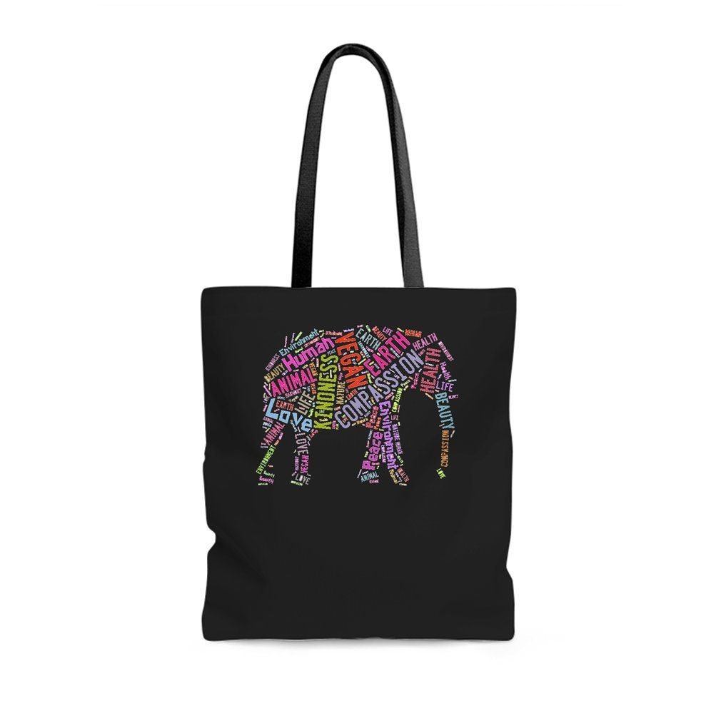 Thumb Vegan Elephant Tote Bag