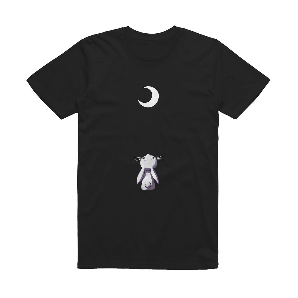 Thumb Moon Bunny T Shirt