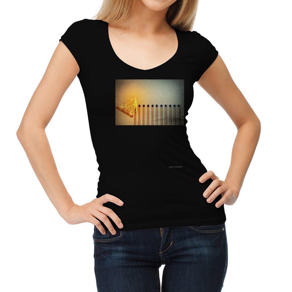 Thumb burning matches Women T Shirt