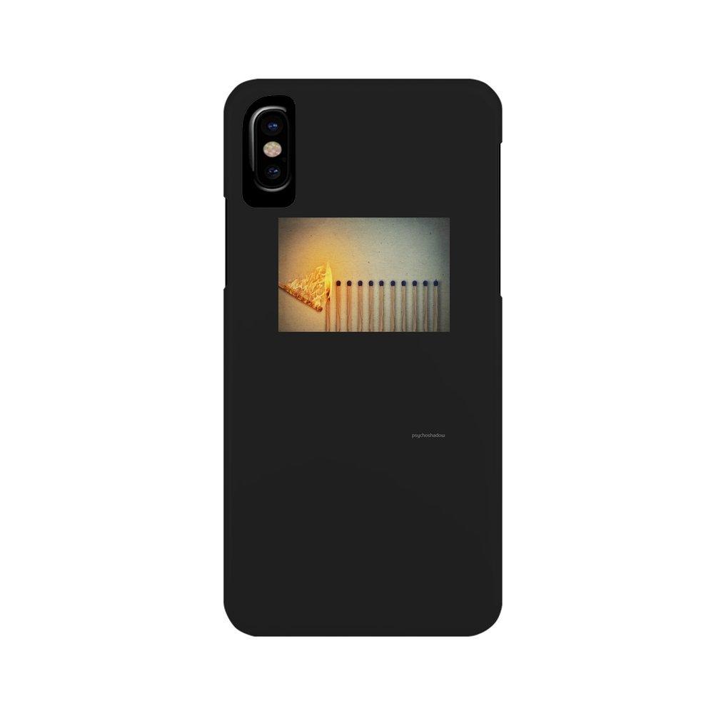 Thumb burning matches iPhone XS Max