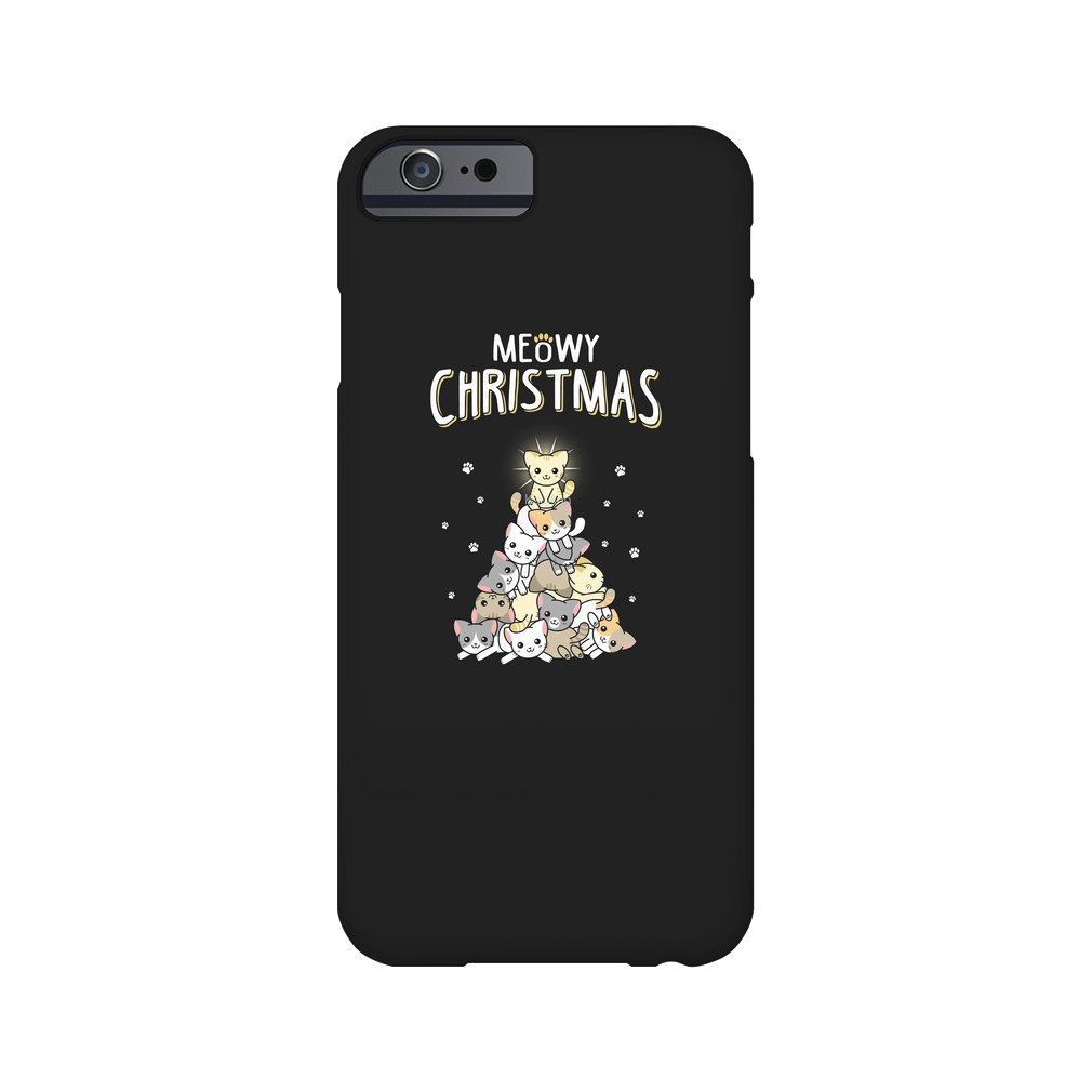 Thumb Meowy Christmas iPhone 6/6S