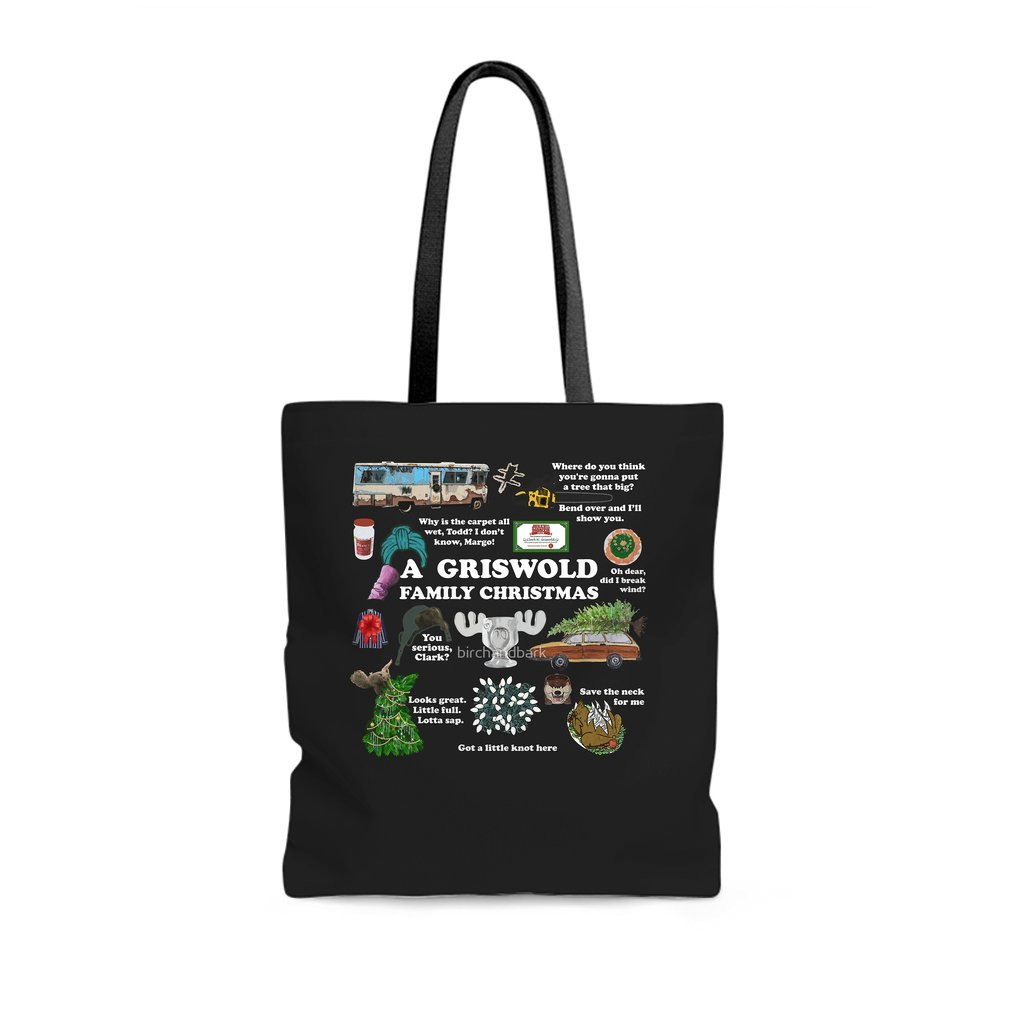 Thumb Christmas Vacation Collage Tote Bag