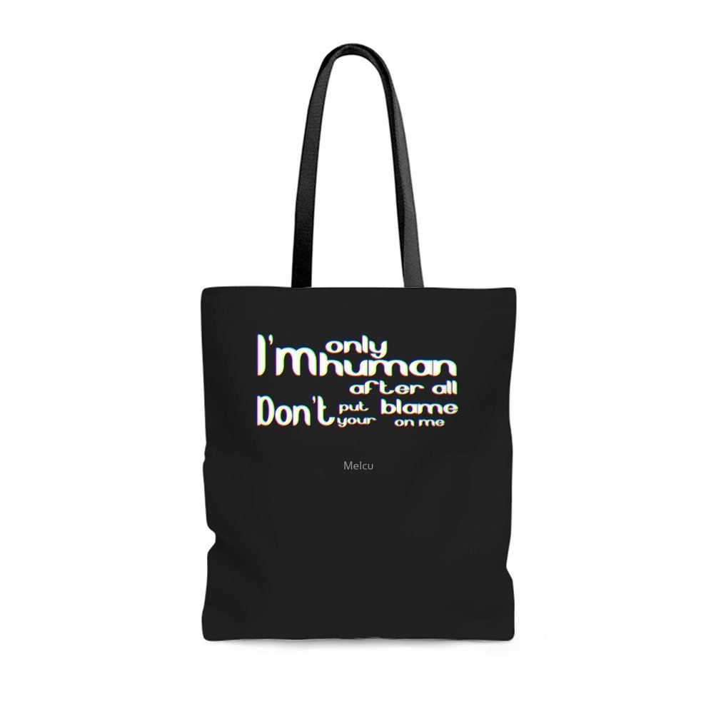 Thumb I'm only human after all Tote Bag