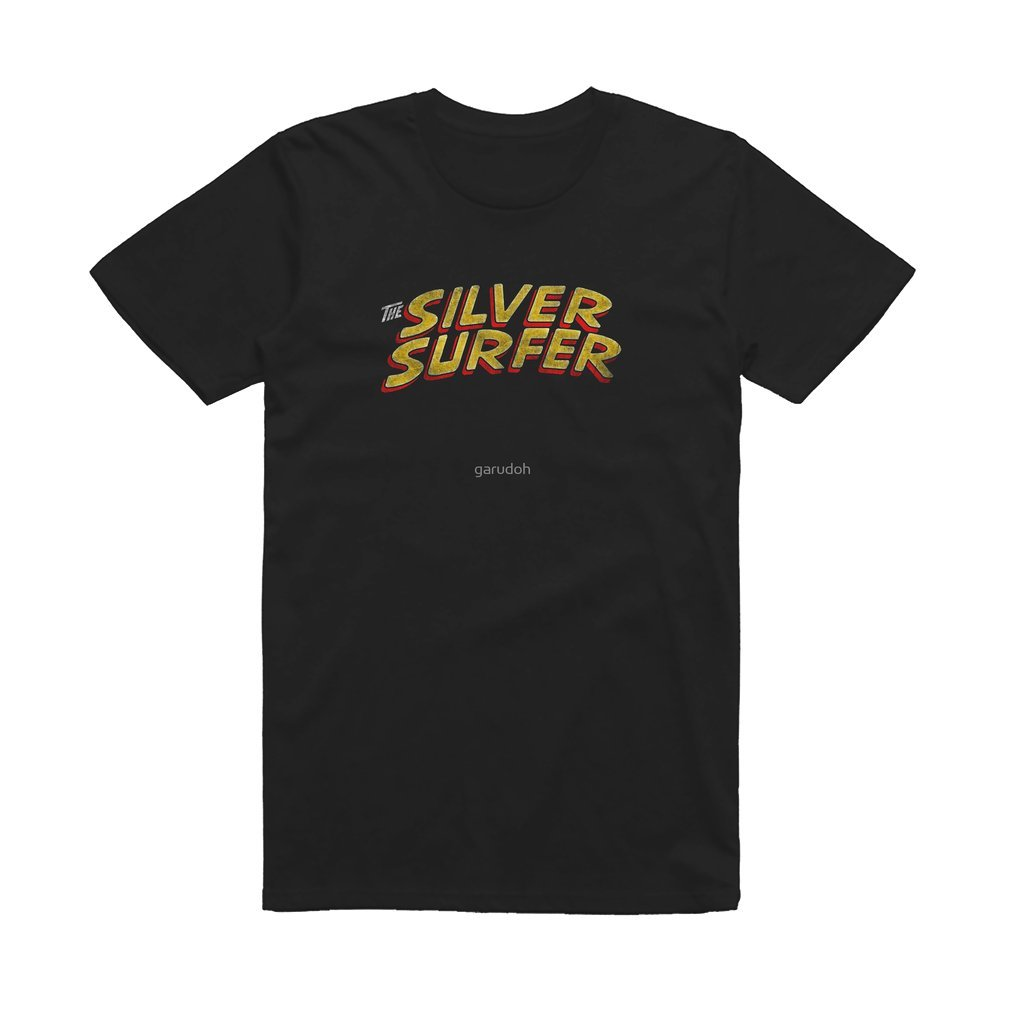Thumb Silver Surfer - Classic Title - Dirty T Shirt
