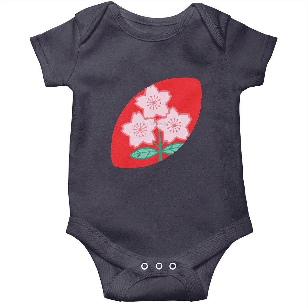 Thumb Rugby Japan Baby Onesie