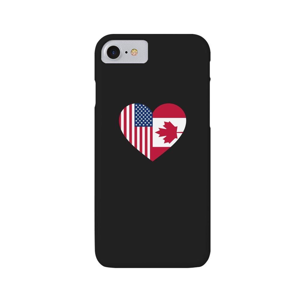 Thumb USA Canada flag heart iPhone 7/8