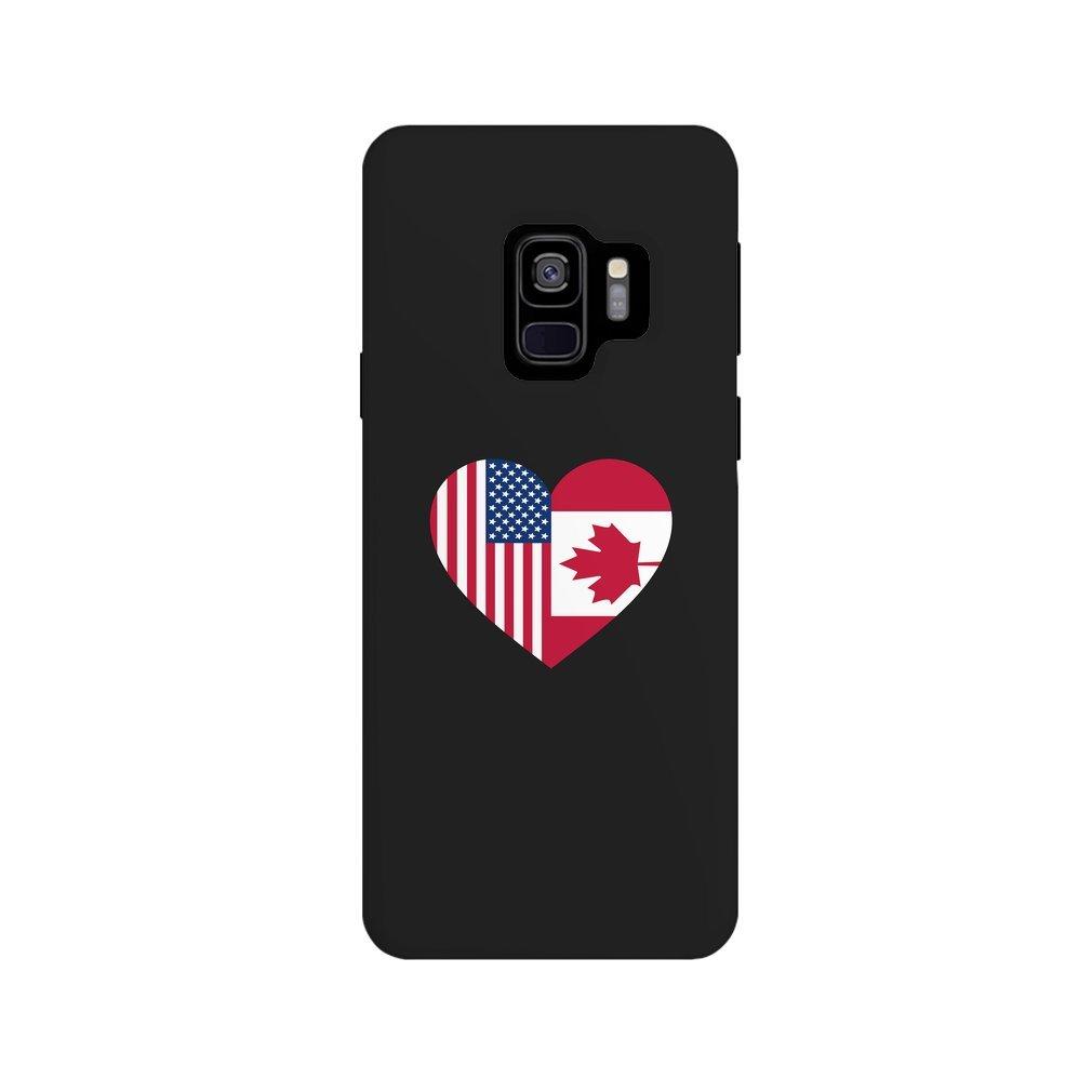 Thumb USA Canada flag heart Galaxy S9