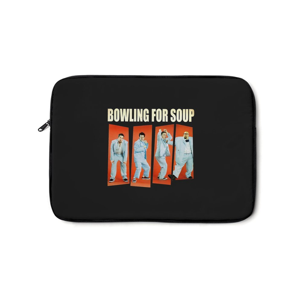 Thumb Bowling for Soup Laptop Bag