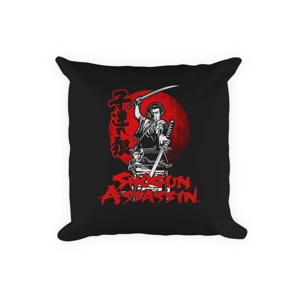 Thumb LONEWOLF AND CUB AKA SHOGUN ASSASSIN SHINTARO KATSU JAPANESE RETRO SAMURAI MOVIE Pillow