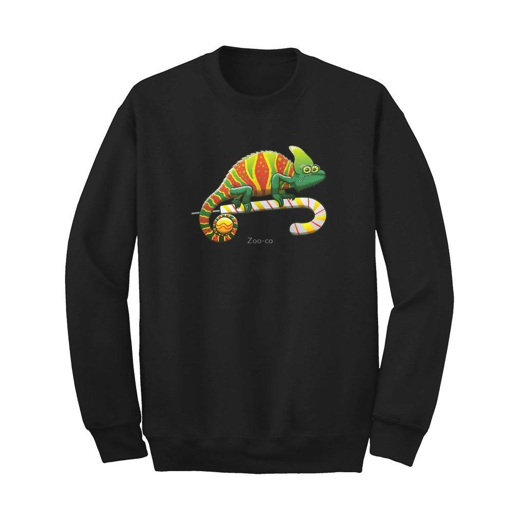 Thumb Christmas Chameleon Sweat Shirt