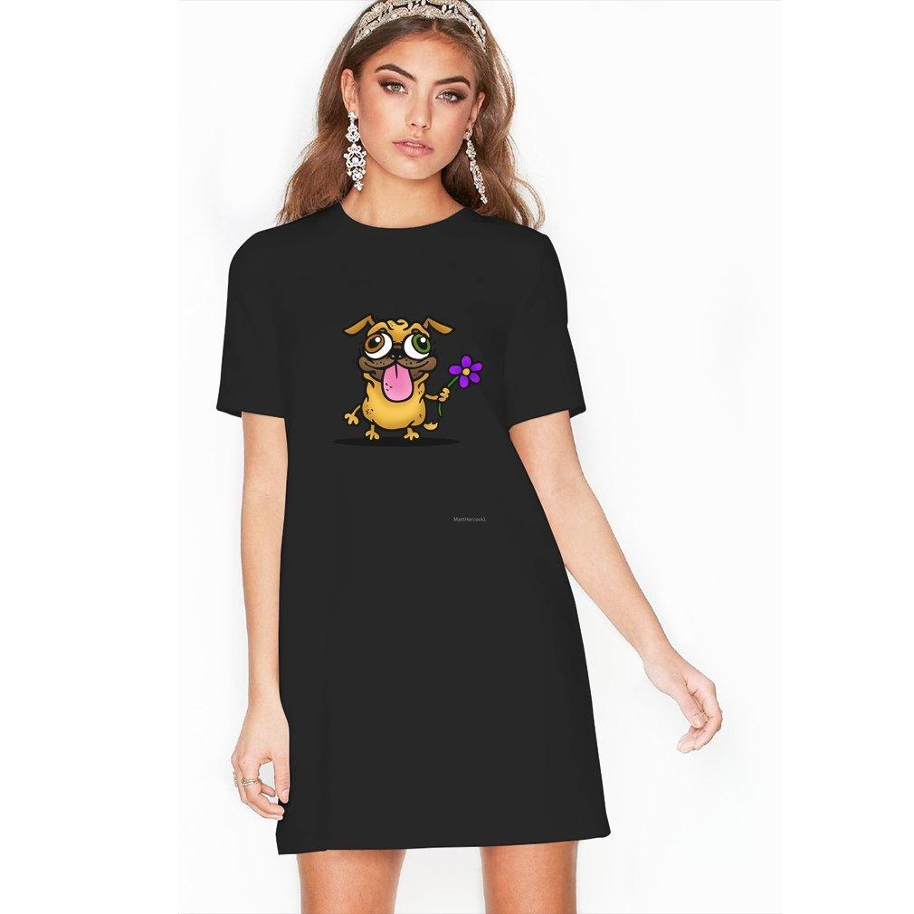 Thumb PUG PUG PUG T Shirt Dress
