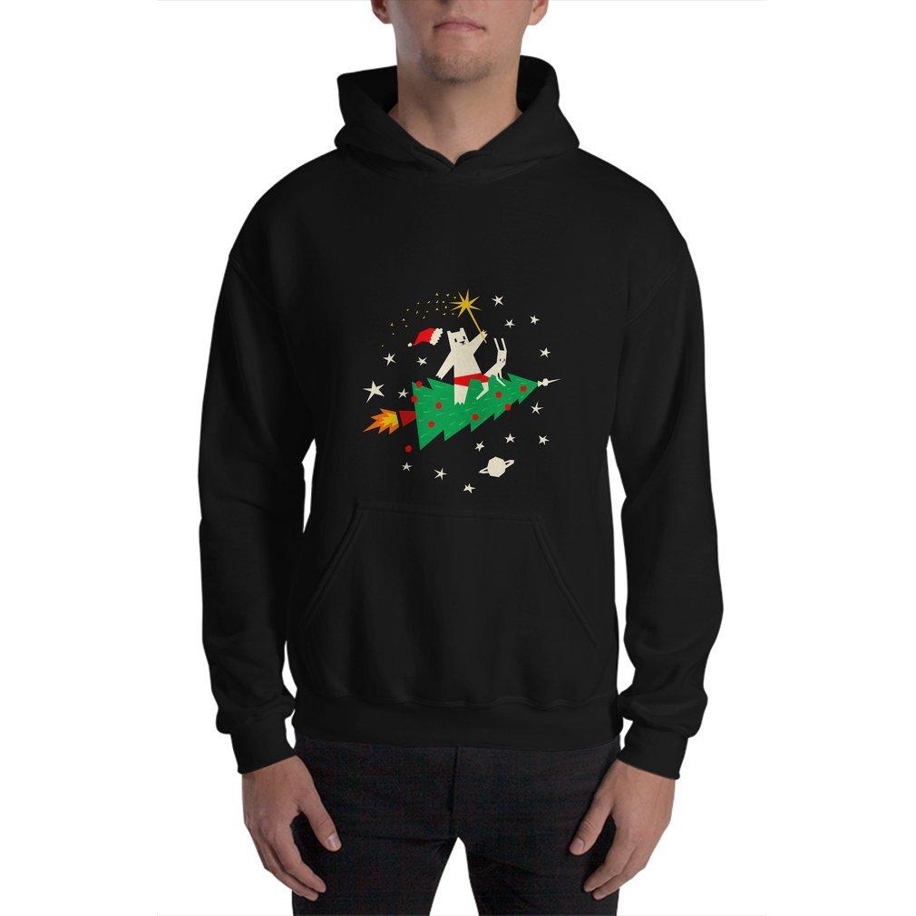 Thumb Space Christmas Hoodie