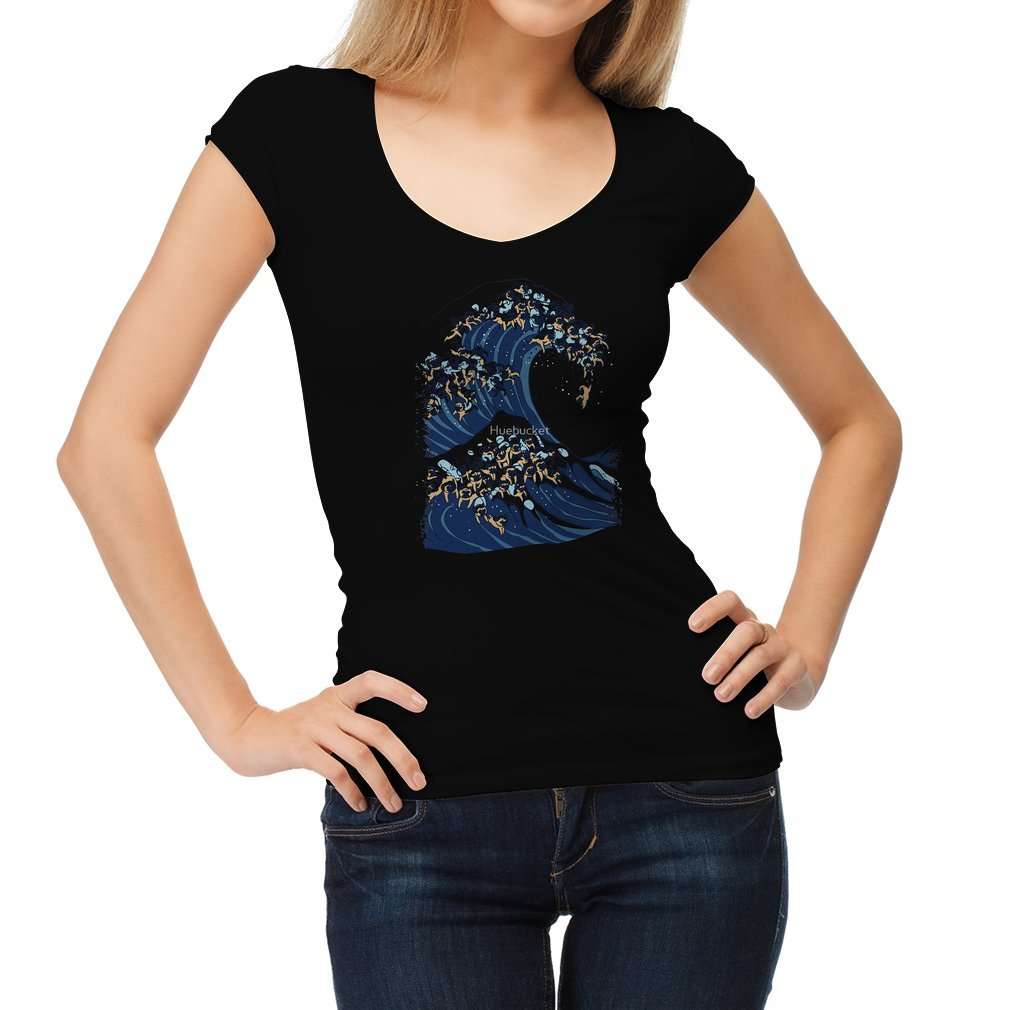 Thumb The Great Wave of Pug Women T Shirt