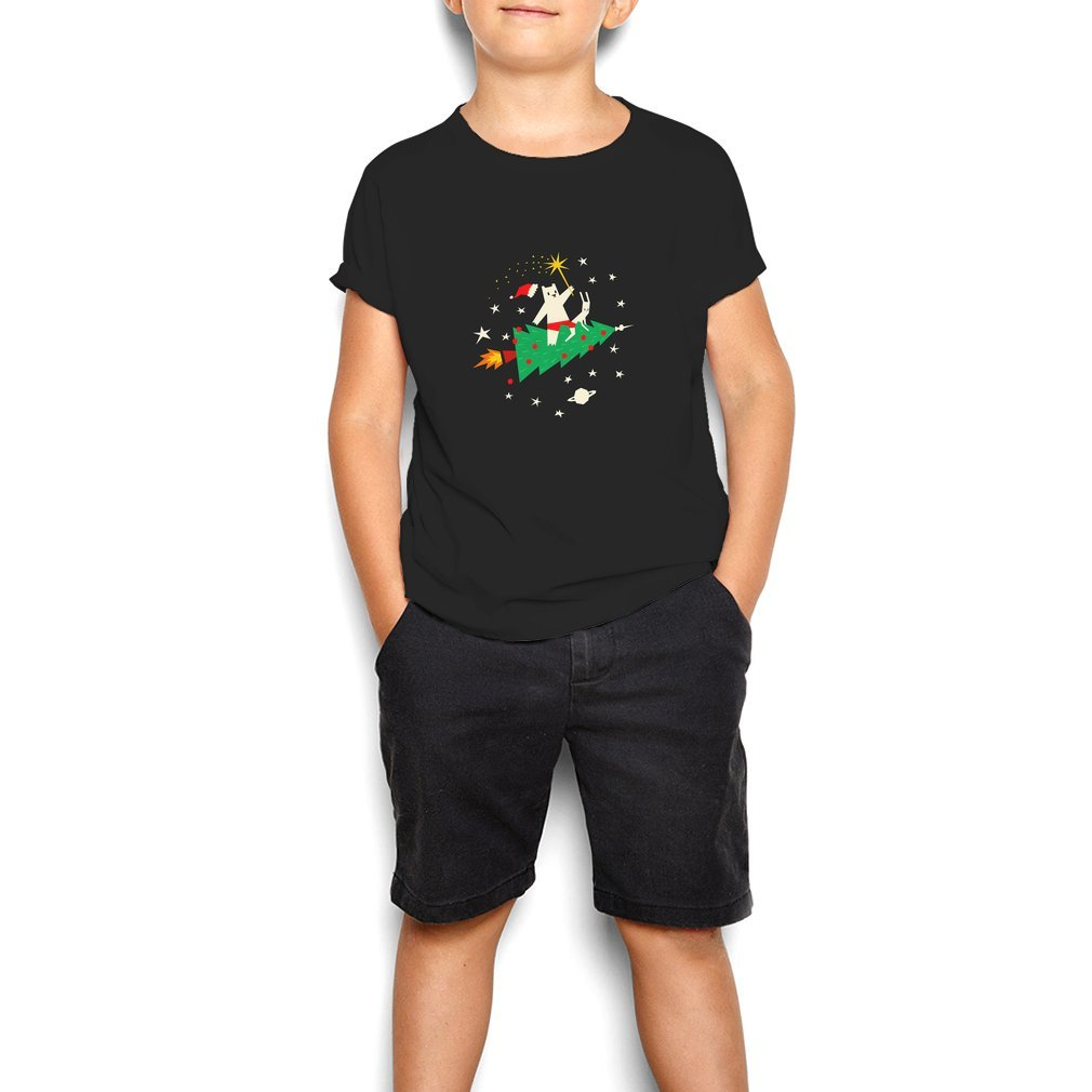 Thumb Space Christmas Youth Tee