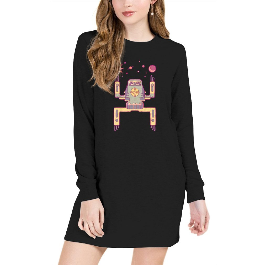 Space Sloth - Sweater Dress