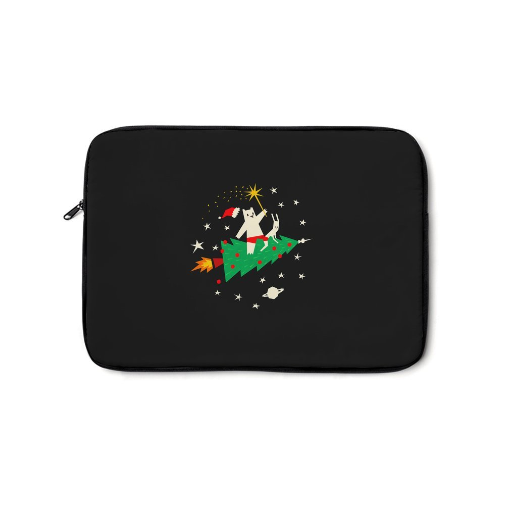 Thumb Space Christmas Laptop Bag