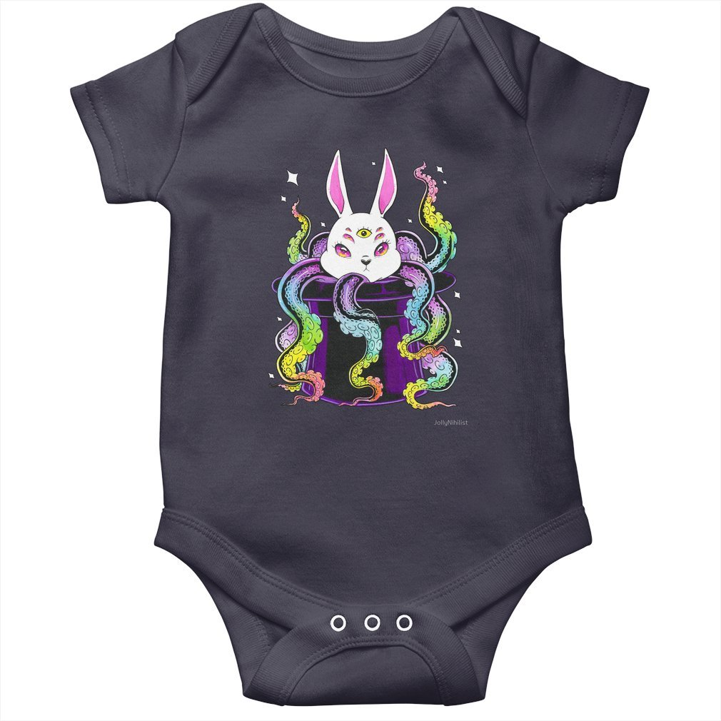 Thumb Eldritch Bunny Baby Onesie