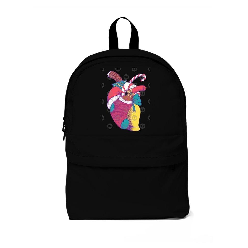 Thumb Christmas Heart Backpack