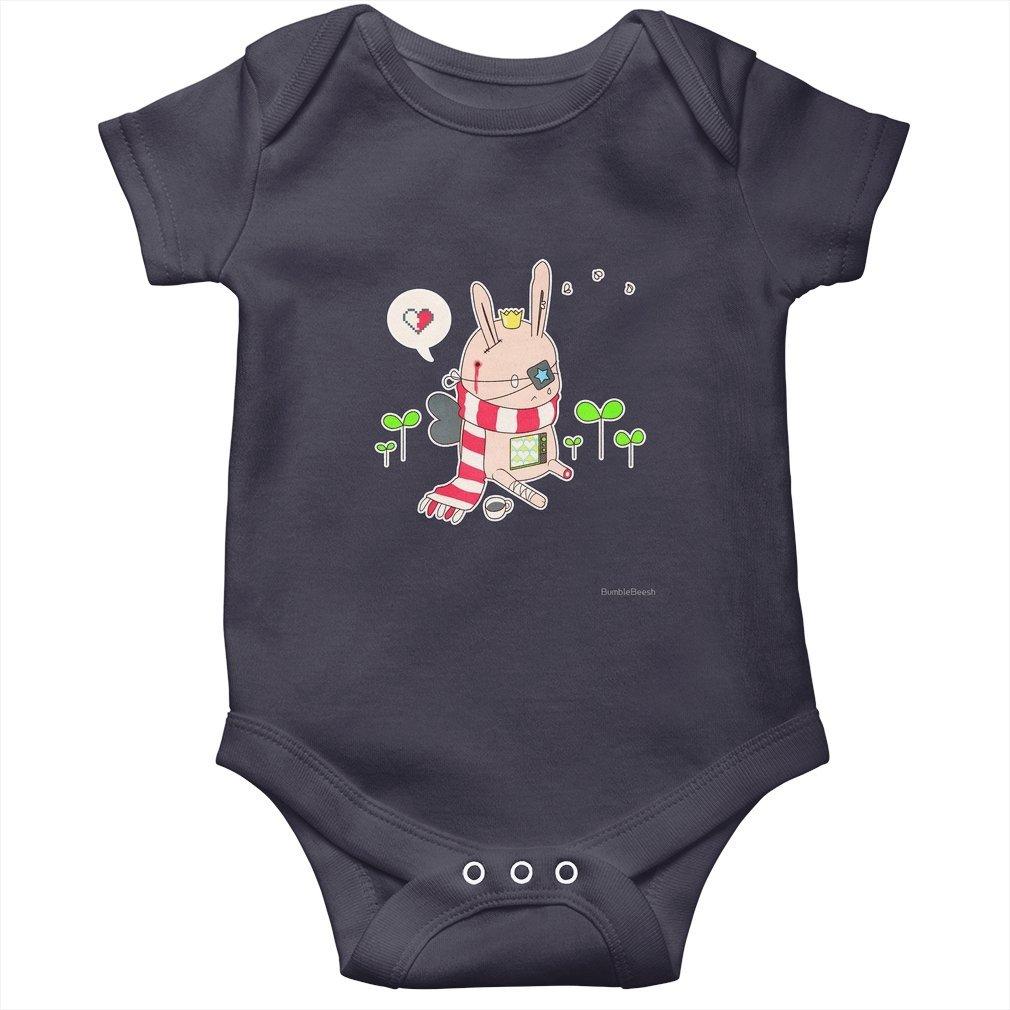 Thumb Bunny boy Baby Onesie