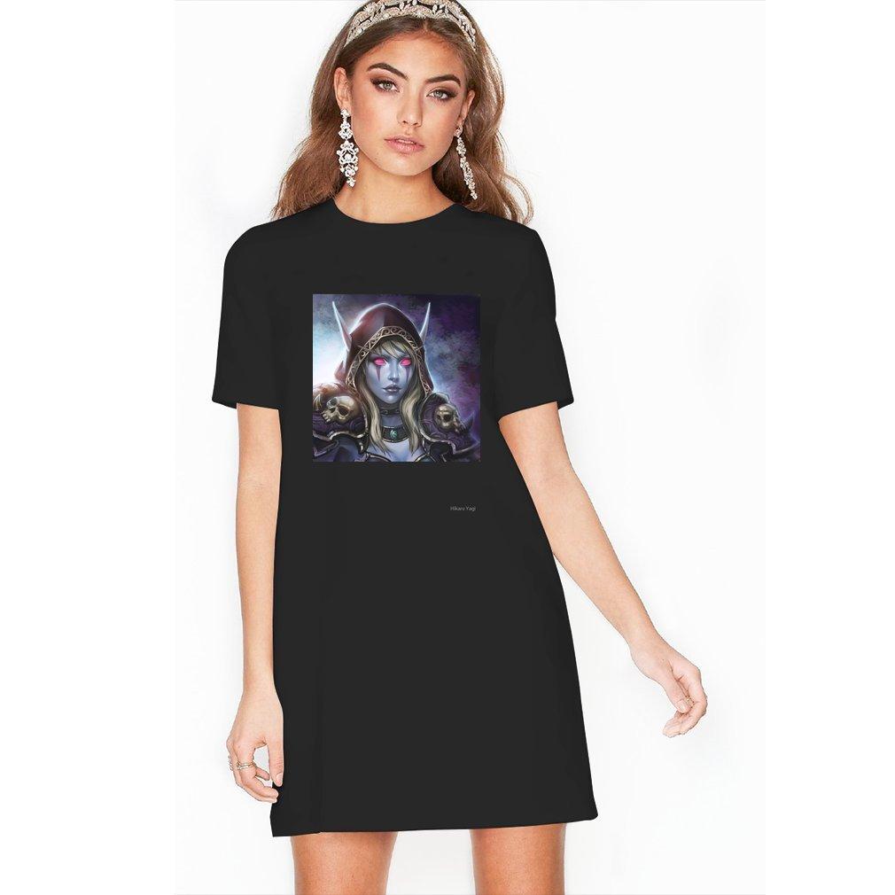 Thumb Lady Sylvanas Windrunner T Shirt Dress