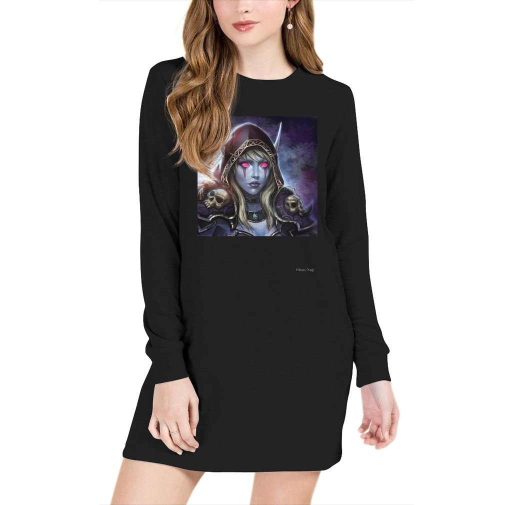 Thumb Lady Sylvanas Windrunner Sweater Dress