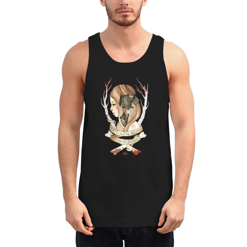 Thumb Bats and Bodies Unisex Tank Top