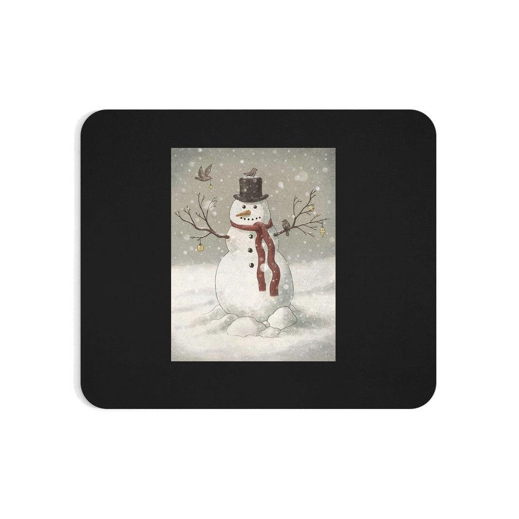 Thumb Christmas Snowman Mouse Pad