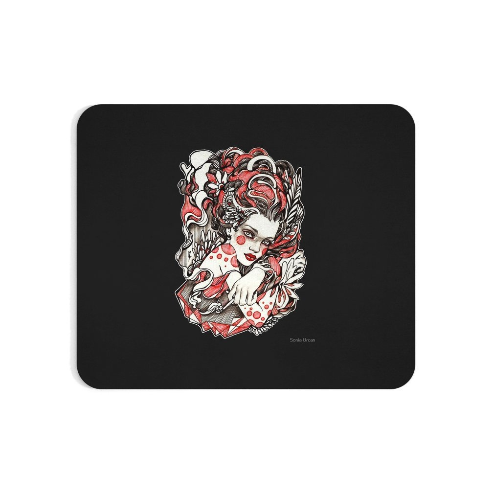 Thumb Exhale Mouse Pad