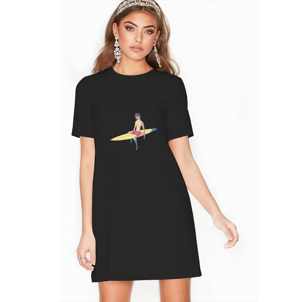 Thumb Surfer T Shirt Dress