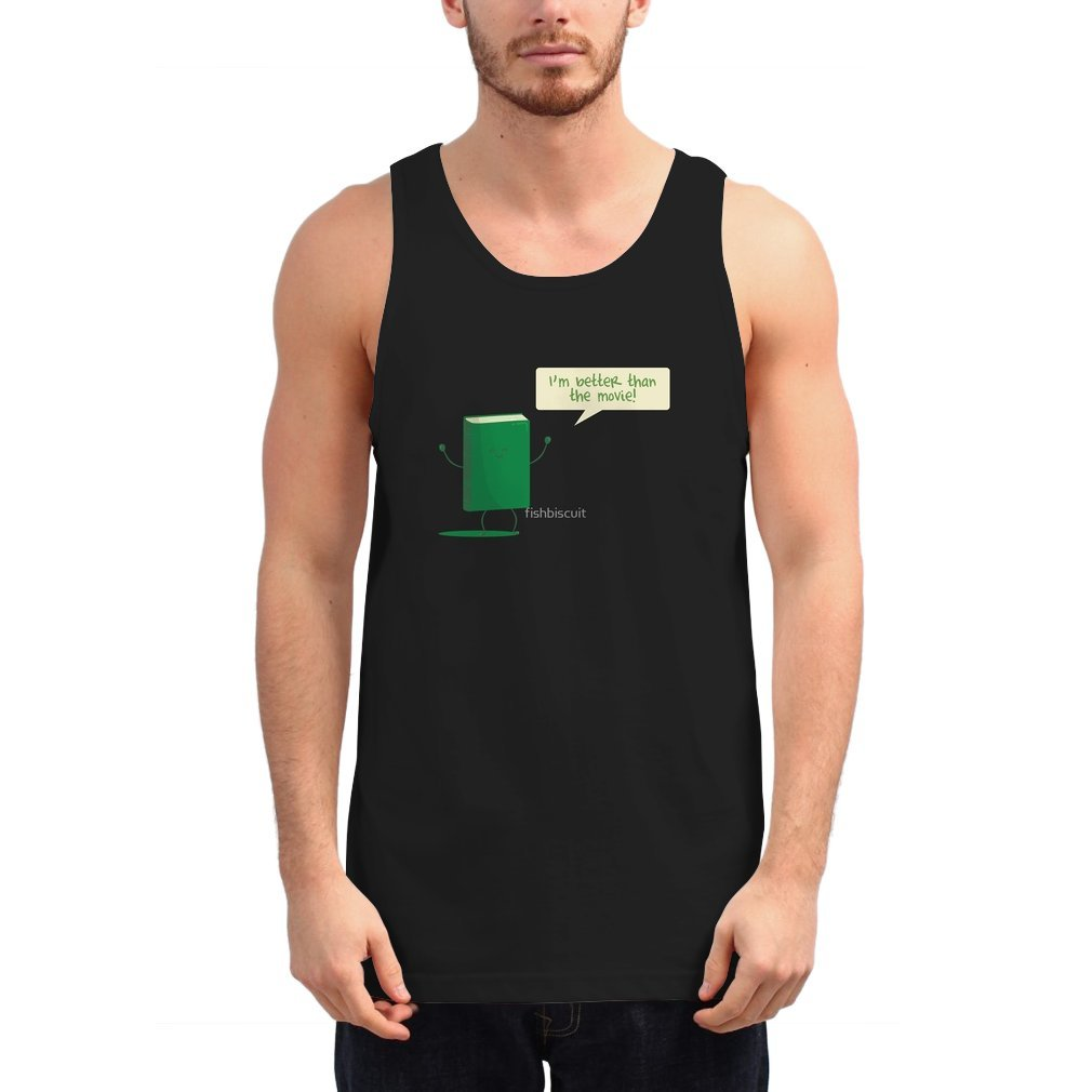 Thumb I Am Better Than The Movie Unisex Tank Top