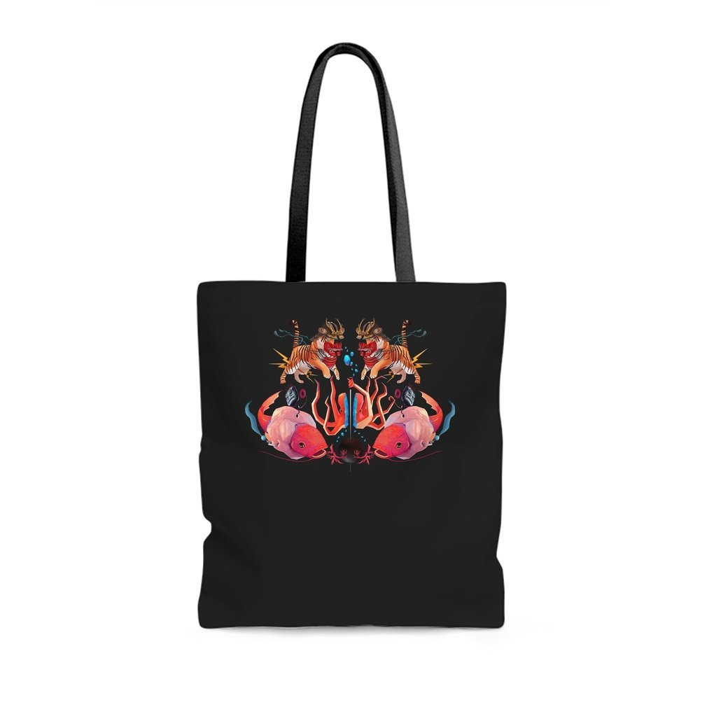 Thumb New World order Tote Bag