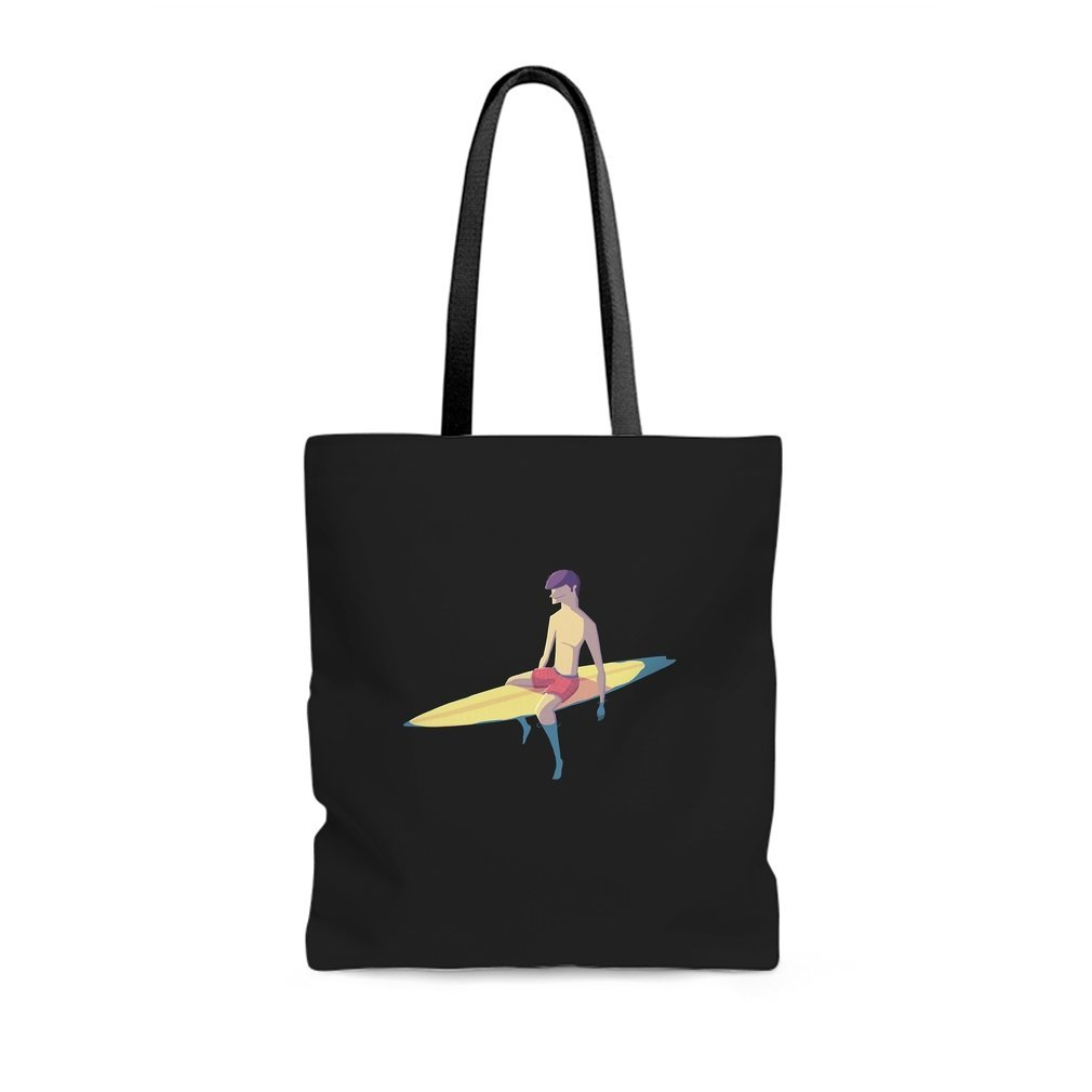Thumb Surfer Tote Bag