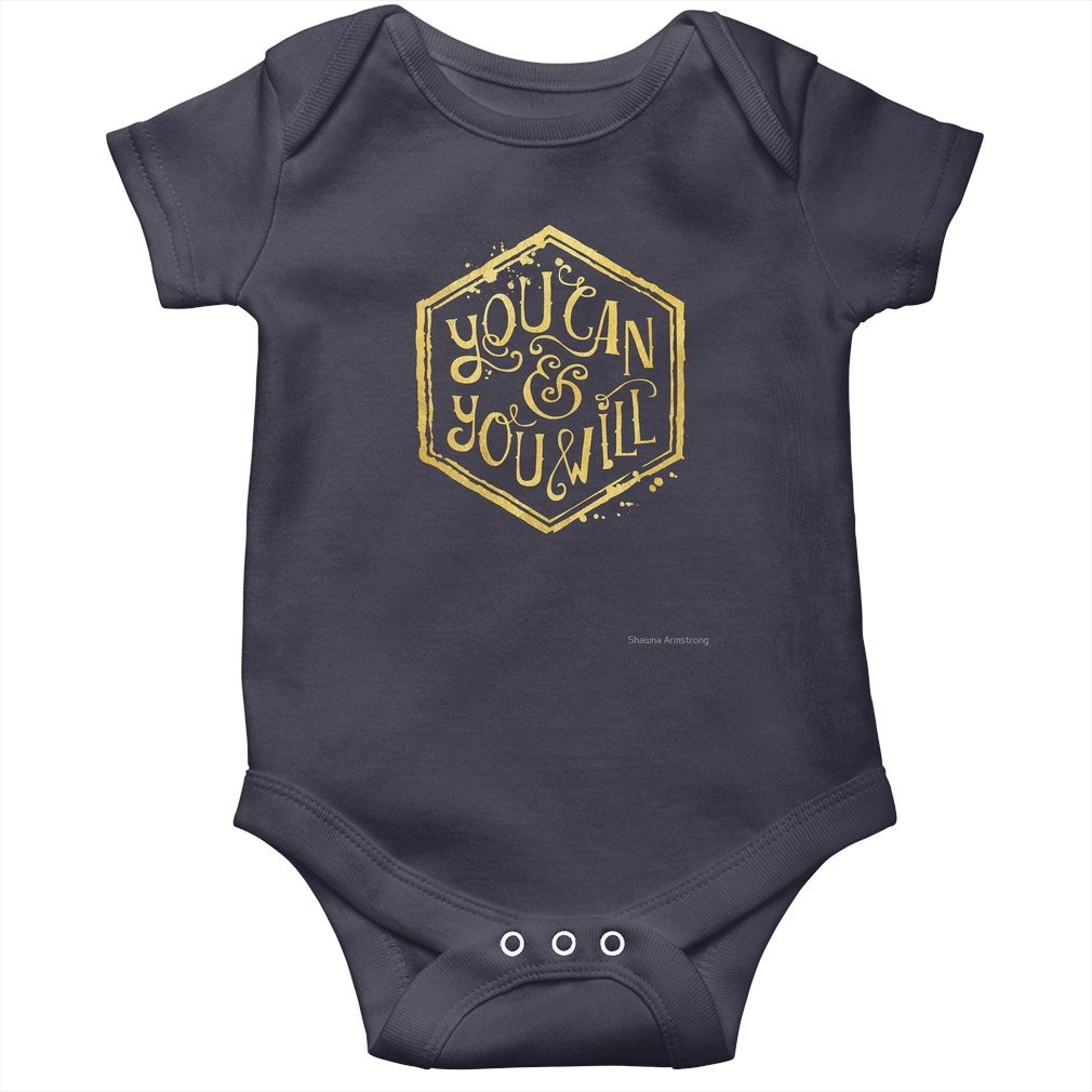 Thumb You can & you will Baby Onesie