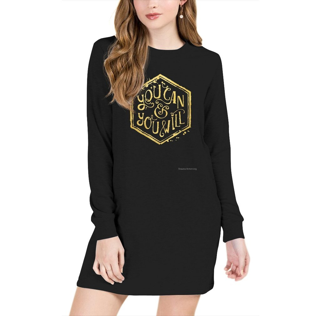 Thumb You can & you will Sweater Dress