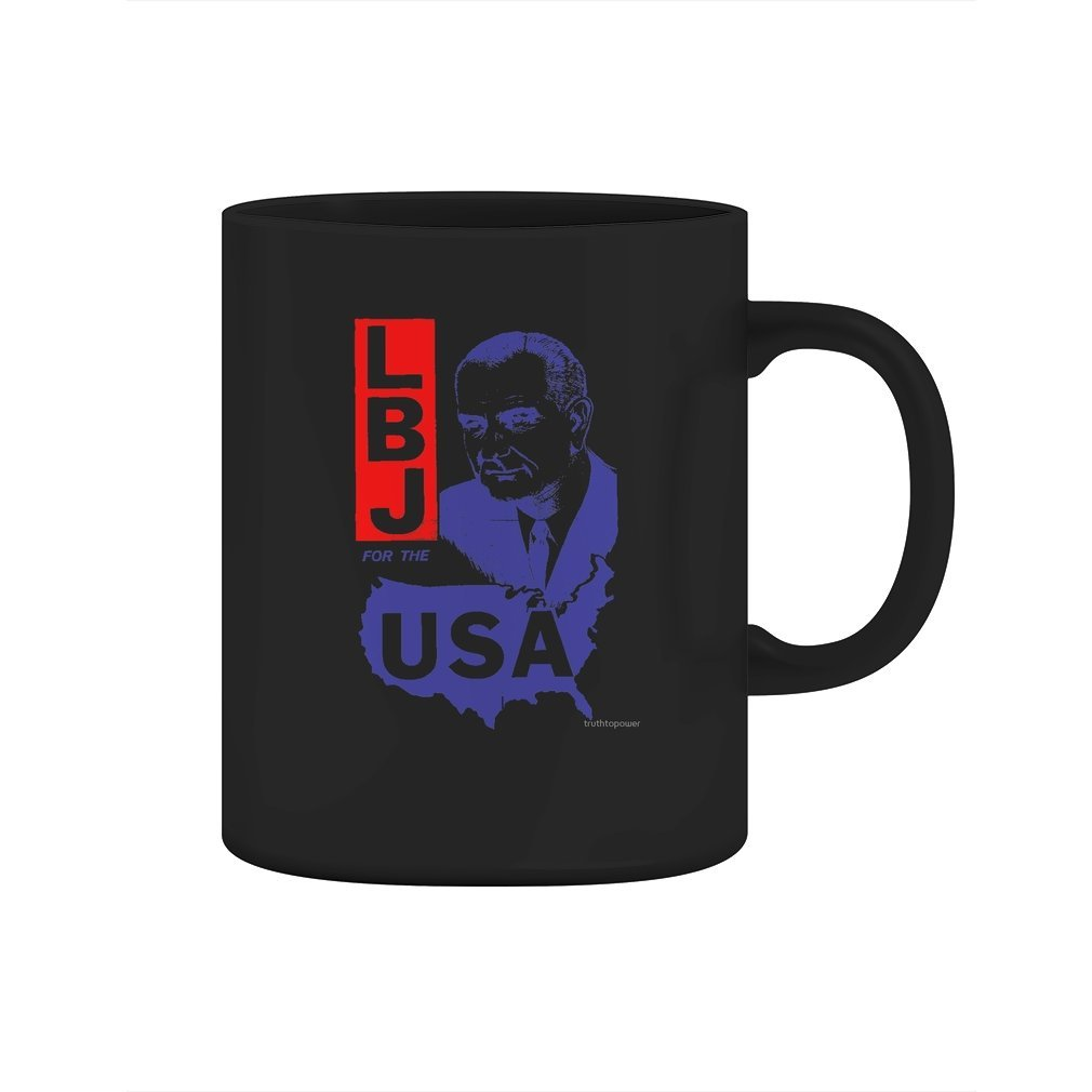 LBJ FOR THE USA - Mug