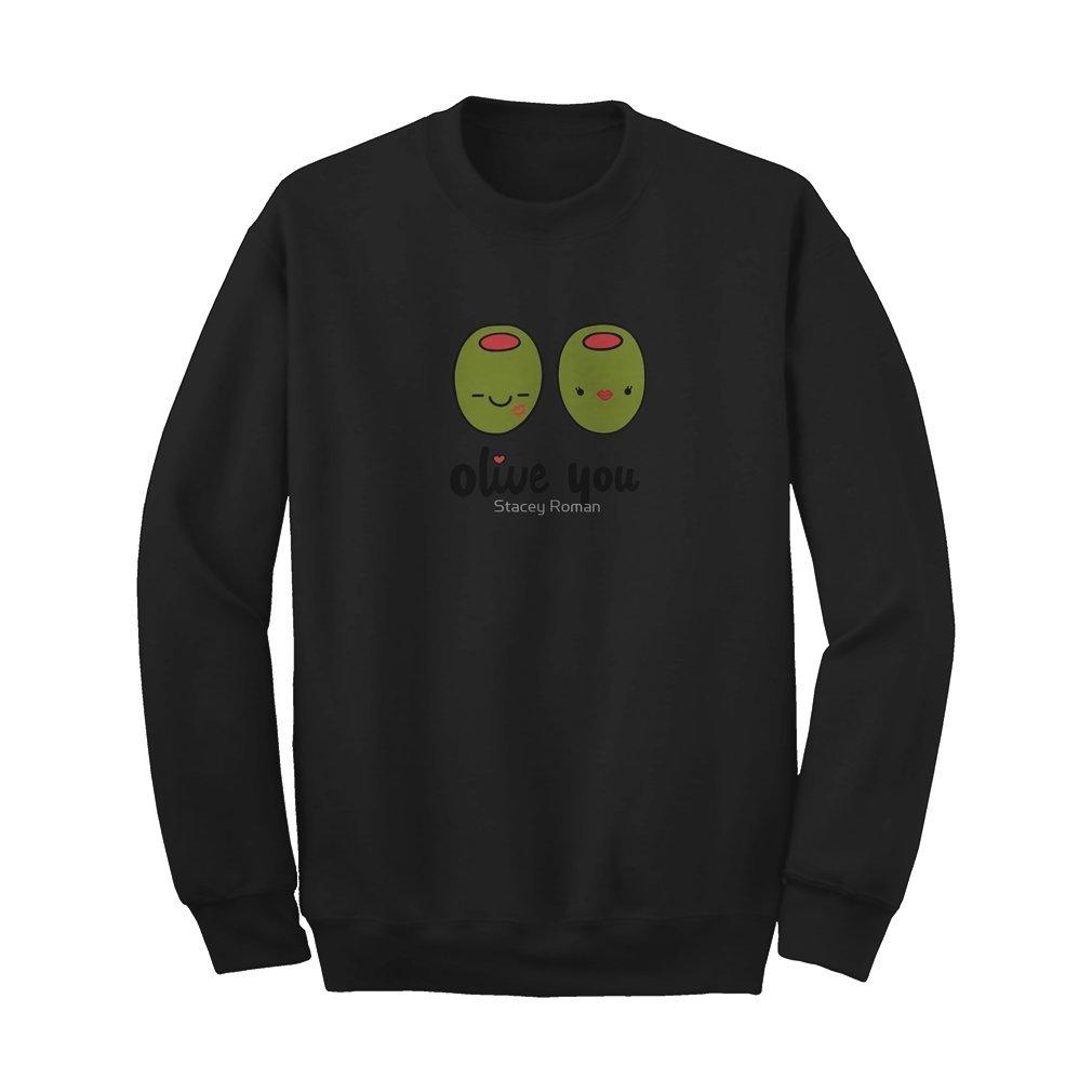 Thumb Olive You Sweat Shirt