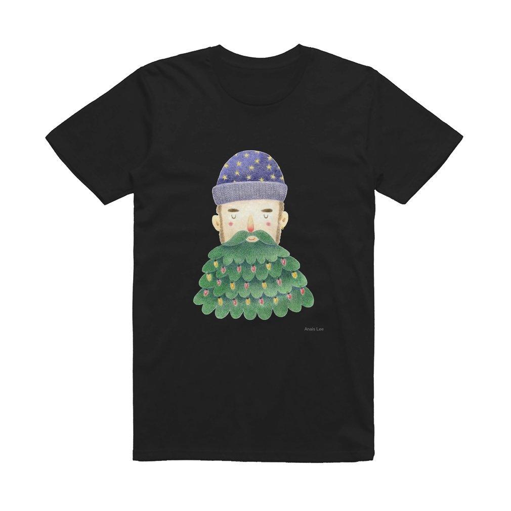 Thumb Hipster Christmas T Shirt