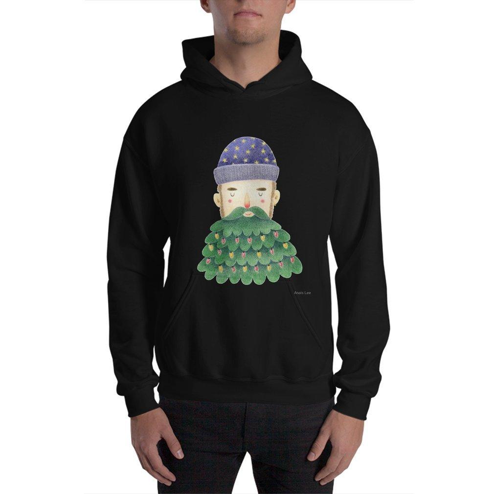 Thumb Hipster Christmas Hoodie