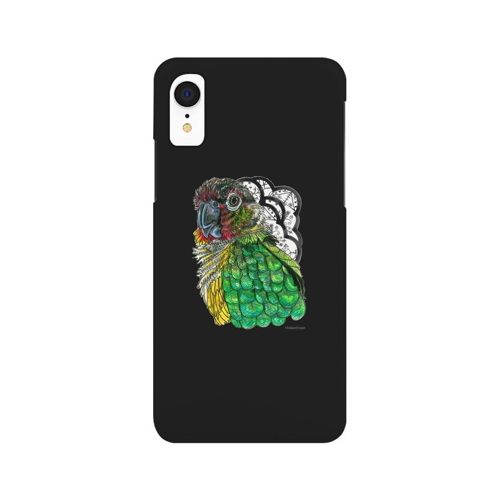 Thumb Green Cheeked Conure iPhone XR