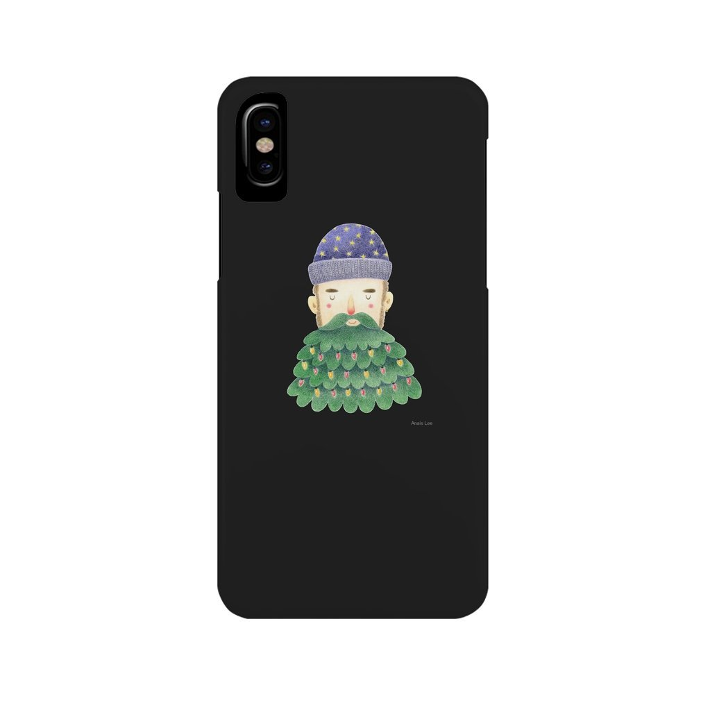 Thumb Hipster Christmas iPhone XS Max
