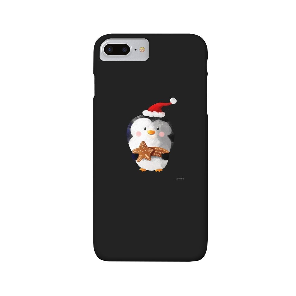 Thumb Cute Christmas Penguin iPhone 7/8 Plus