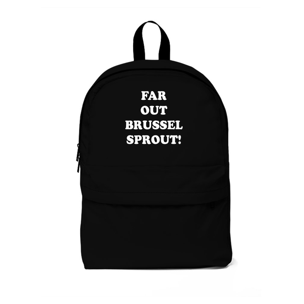 Thumb Far Out Brussel Sprout! Backpack