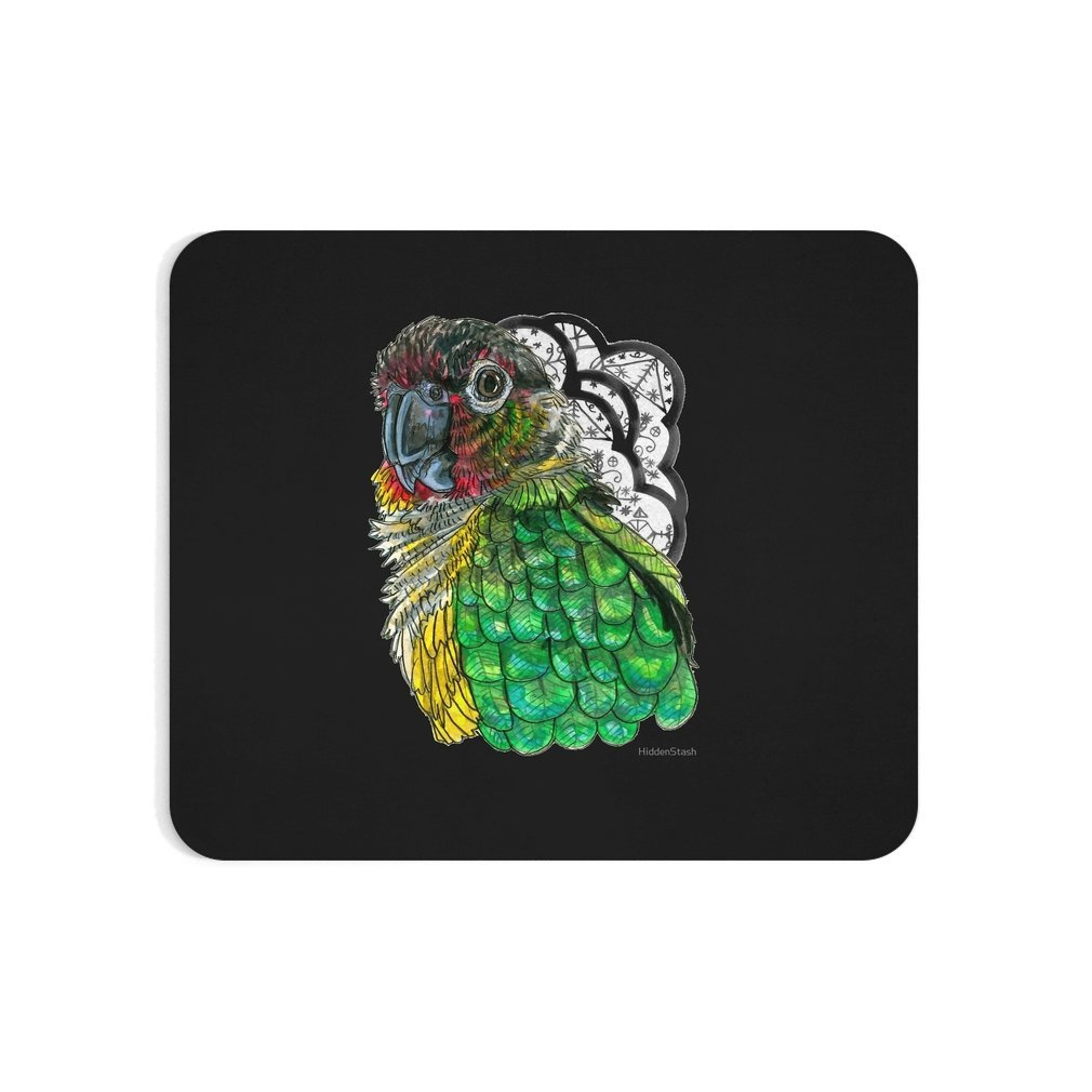 Thumb Green Cheeked Conure Mouse Pad
