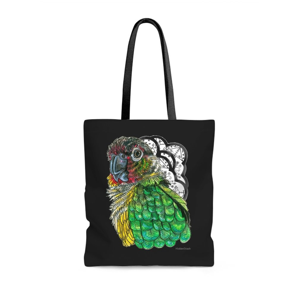 Thumb Green Cheeked Conure Tote Bag