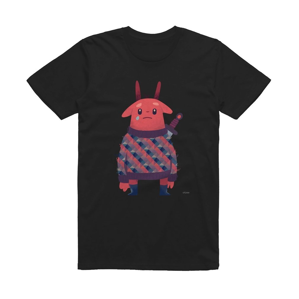 Thumb Sword Bunny T Shirt