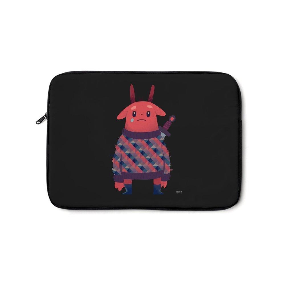 Thumb Sword Bunny Laptop Bag